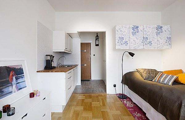 Дизайны маленьких квартир студий